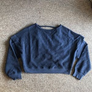 NWT Out from Under Backless Crop Sweater